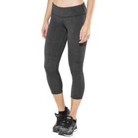 Prana Ashley Capri Legging Women Charcoal Heather Confetti